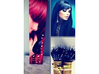MOBILE HAIR EXTENSIONS SERVICES- NANO RINGS, FUSION BONDS, MICRO RINGS, WEAVES, TAPED WEAVE ETC..