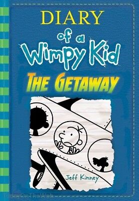 The Getaway  Diary Of A Wimpy Kid Book 12  New Hardcover By Jeff Kinney