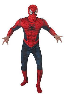 Ultimate Spiderman Kostüm für Herren Deluxe NEU - Herren Karneval Fasching Verkl