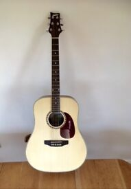 Ashton accoustic guitar dm25nt. Like new. Good player. Ideal for xmas.