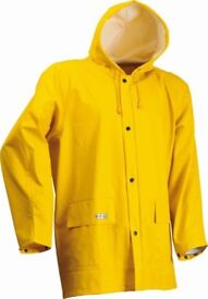 Lyngsoe LR48 Yellow Waterproof Wind & Rain Jacket Microflex - Size L - New with tags
