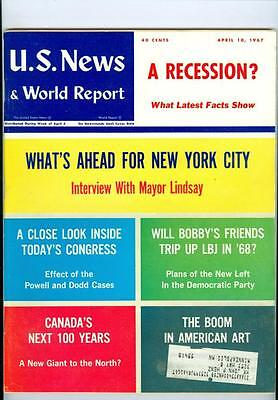 1967 U S  News   World Report  Whats Ahead For New York City Powell Dodd Cases