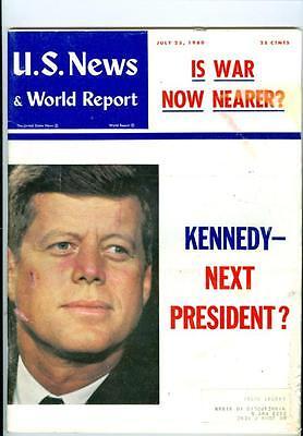 1960 U S  News   World Report  John F  Kennedy Next President  Is War Nearer