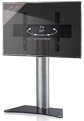 ss  Zentral TV-Rack Aus Aluminium ohne Zwischenablage Schwar (Zwischenablage Rack)