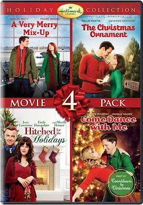 HALLMARK HOLIDAY COLLECTION DVD - MOVIE 4-PACK [2 DISCS] - NEW - CHRISTMAS ()