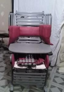 Deluxe Wheelchair with Large Tray