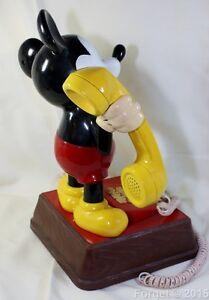 For Sale. Vintage ATC Mickey Mouse Phone Model # TEIF 8000 Oakville / Halton Region Toronto (GTA) image 3