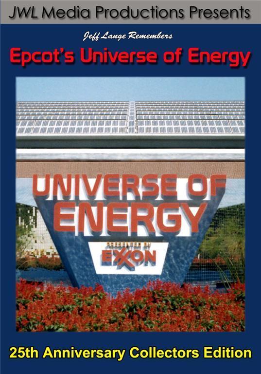 Walt Disney World, Epcot Universe Of Energy Dvd, Original Version, Full Pre-show