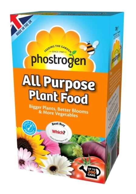 Phostrogen All Purpose Soluble Plant Food 15, 40, 80 & 200 Watering Cans