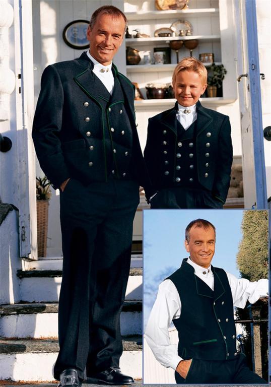 XXL 56  ADULT NORWEGIAN DESIGNED MENS  BUNAD FESTDRAKT FROM NORWAY  NO SHIRT