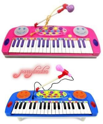 Electronic Organ Musical Instrument Keyboard Piano Kids Toys with microphone