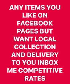 Or gumtree message me