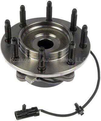 Wheel Bearing Hub Assembly Chevy Silverado GMC Sierra 2500 Dorman 951-067 4x4