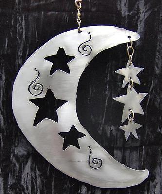 MOON N STARS Hanging Celestial Metal Garden ...