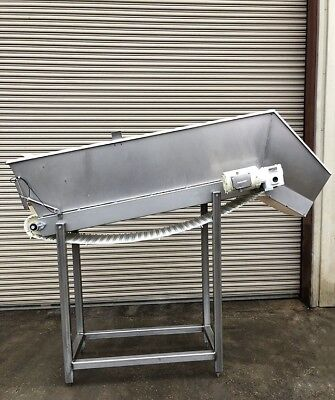 Conveyor 18 X 70 Incline Cleated Belt 1 Food Conveying