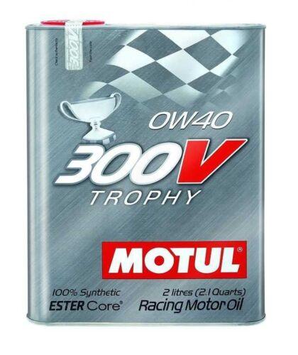 """Motul (104240) 300V 0W40 """"Trophy"""" Oil - 2 Liter"""