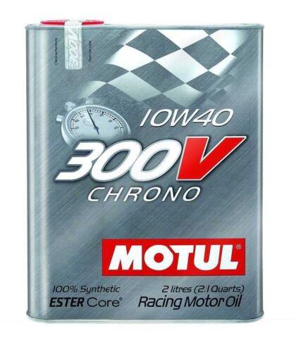 "Motul (104243) 300V 10W40 ""Chrono"" Oil - 2 Liter"