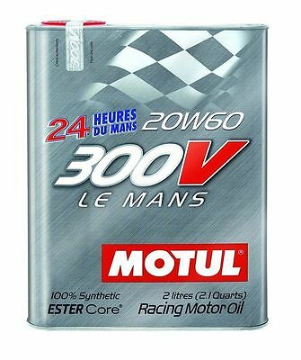 Motul 103141 Synthetic Racing Oil - 2 Liter
