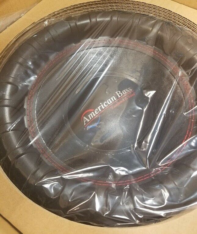 "NEW American Bass XFL1244 12"" Dual 4-Ohm XFL Series Car Subw"