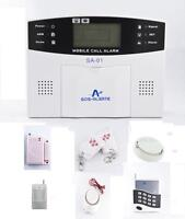 Wireless Security Alarm System with GSM