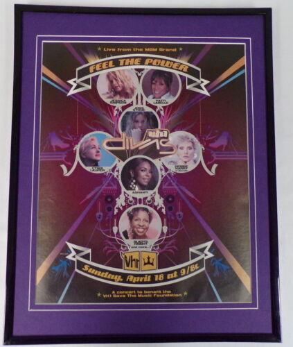2004 VH1 Divas Framed 11x14 ORIGINAL Vintage Advertisement Debbie Harry Ashanti