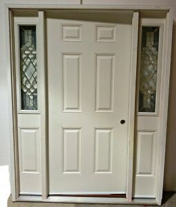 ENTRY DOOR WITH TWO SIDELITES