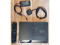 Vu+ Solo2 with 1TB HDD. Alsat Superior Dark Motor. 1.2m satellite dish.