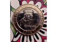 RARE £2 COIN -(SELLING ON EBAY @ £1500)