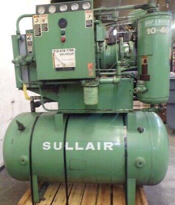 Sullair Air Compressor 10b-40hp 40 Hp 60 Hz 3 Phase 460 V Series B