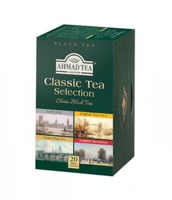 AHMAD TEA Classic Tea Selection Black Tea 20 Tea Bags for sale  Brooklyn
