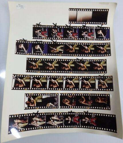 1984 BON JOVI SUPER ROCK TOUR JAPAN Contact print CONCERT PHOTO BY HIRO ITO  #9