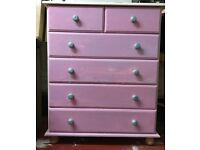 Light Pine Chest Of Drawers