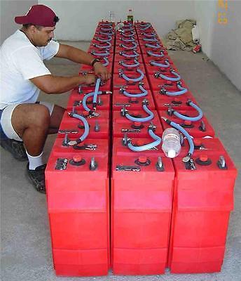 FIX REPAIR REFURBISH RENEW Wind Turbine Battery Bank ACTUAL CHEMICAL MIX!