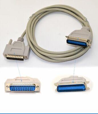 Impresora Cable de Conexión Ieee 1284 Paralelo D-Sub 25 - Céntimos 36 K5174.3 # segunda mano  Embacar hacia Argentina