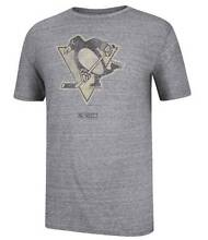 Pittsburgh Penguins CCM Big Logo Tri-Blend T-Shirt Adelaide CBD Adelaide City Preview