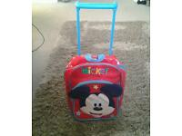 Small Disney mickey mouse pull along trolley