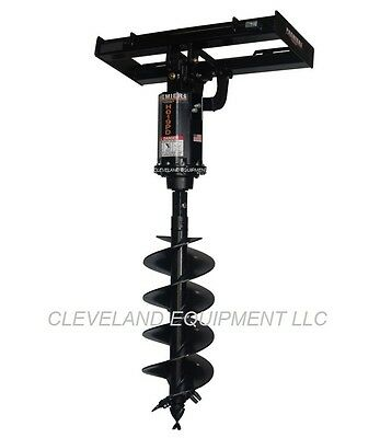 New Skid Steer Auger Attachment - Premier H019 Planetary Drive