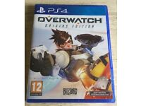 **SEALED** OVERWATCH ORIGINS EDITION PS4 GAME BRAND NEW GAME FOR PLAYSTATION 4