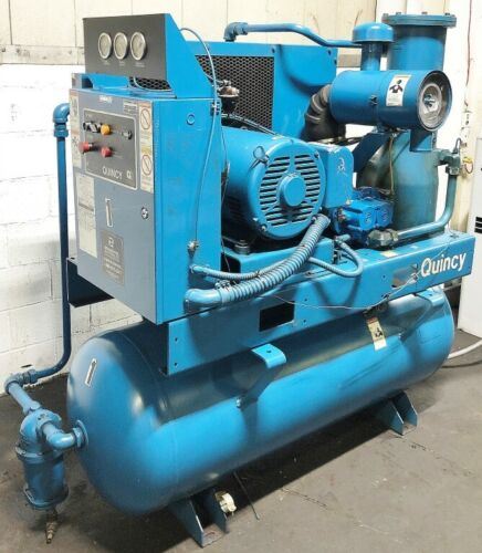 QUINCY 30HP ROTARY SCREW AIR COMPRESSOR