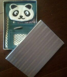 Panda Leather Wallet Gatineau Ottawa / Gatineau Area image 2