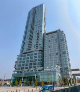 Hotel like unit with 1 Bd, 1 Bth + 1 Den in Surrey 3 Civic Plaza