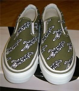 ACUPUNCTURE CLASSIC RETRO TRENDY SLIP ON SKATE DECK CASUAL SHOES TRAINERS UK 6 7