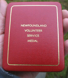 Newfoundland Volunteer War Service Medal  as pictured