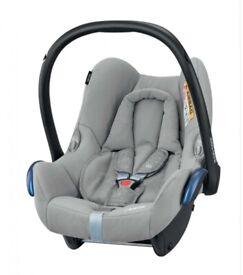 Like New Maxi-Cosi CabrioFix Baby Car Seat, ISOFIX, 0-13 kg Nomad Grey