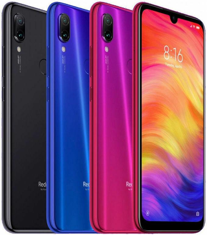 Android Phone - Xiaomi Redmi Note 7 Unlocked 32GB 3GB RAM Dual Sim 4G Smartphone -Global Version
