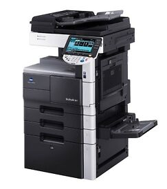Konica Minolta Bizhub colour copier printer scanner, connect to your Pc and use as a scan printer