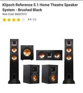 MINT CONDITION HOME THEATRE SPEAKERS