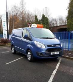 Ford Transit Custom Limited 2.2TDCi 2013 One Owner VAT Assist Available