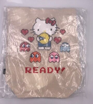 SDCC 2017 Bait Exclusive Hello Kitty x Pacman Canvas Tote Bag