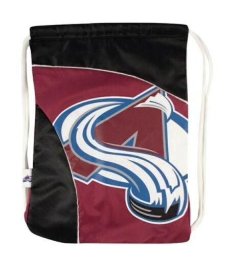 NHL Colorado Avalanche Logo Team Spirit Drawstring Curve Cin